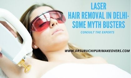 If you're ready to give laser hair removal a go, book your consultation now with Dr. Suruchi Puri Medi Makeovers. Our friendly team of beauty clinicians is available to answer any questions you might have about laser hair removal in Delhi. With a team of experienced laser hair removal professionals and approved hair removal treatments, we are the best hair removal skin clinic in Delhi.